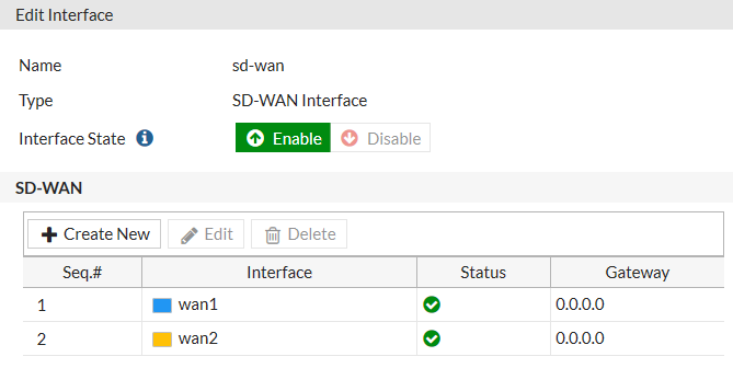 HOW TO CONFIGURE THE SD-WAN SETTINGS OF FORTIGATE